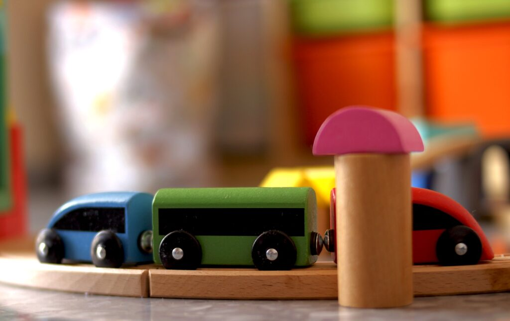 IKEA toys and displays